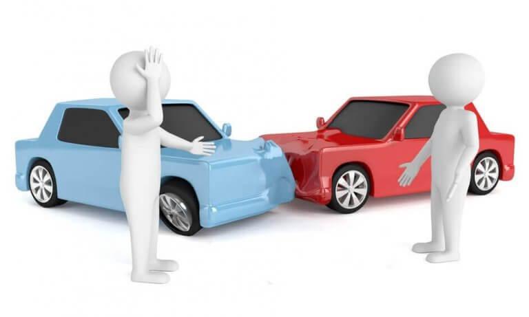 Autounfall Ärger Streit Schuld