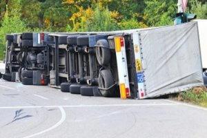 Lkw Unfall Transportschaden